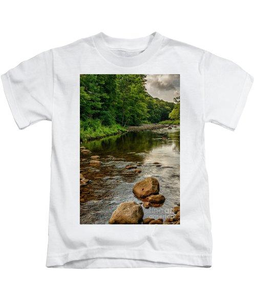 Summer Morning Williams River Kids T-Shirt