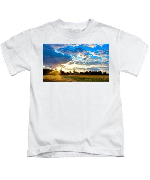 Summer Skies Kids T-Shirt