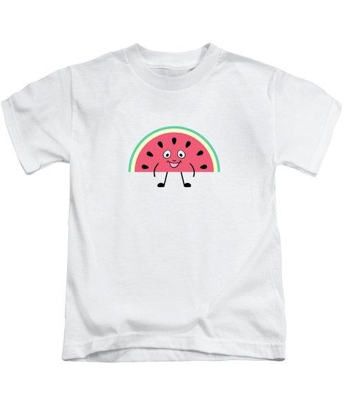 Summer Watermelons Kids T-Shirt
