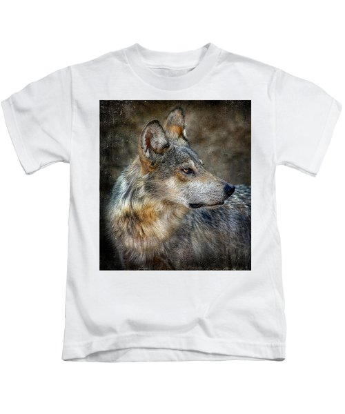 Summertime Coated Wolf Kids T-Shirt