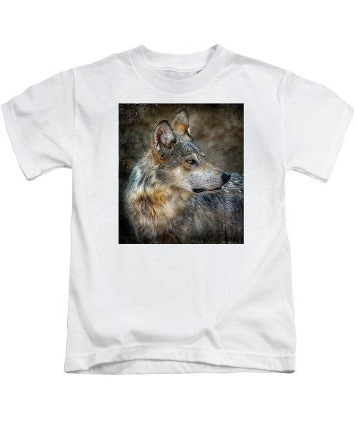 Summertime Coated Wolf Kids T-Shirt