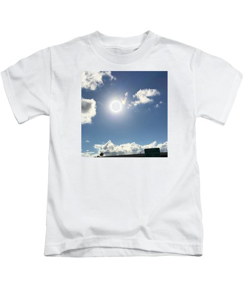 Sun Sky Angel Kids T-Shirt