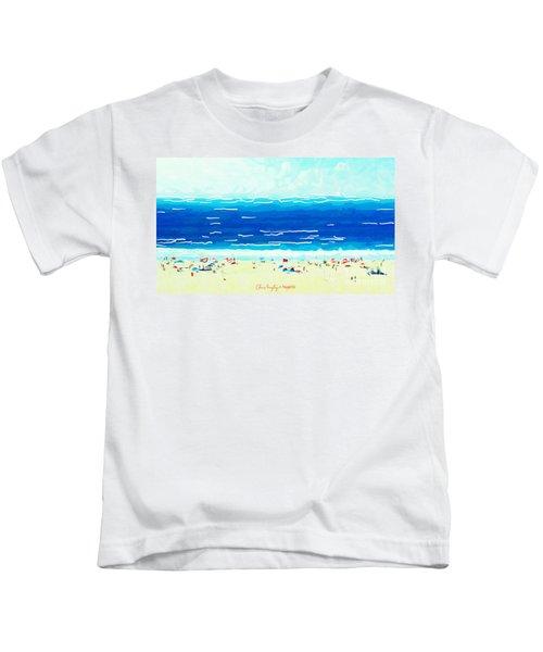 Sunday At Bondi Kids T-Shirt