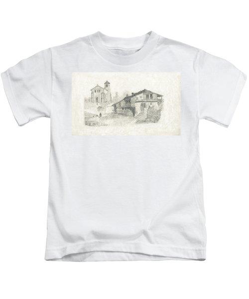 Sunday Service - No Borders Kids T-Shirt