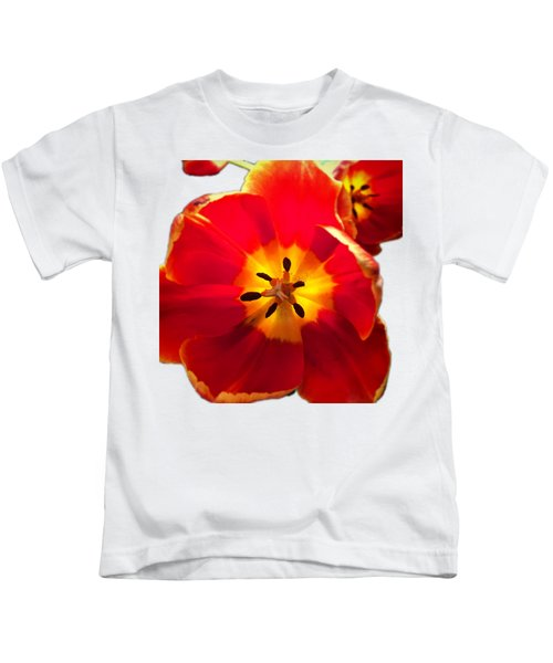 Sunkissed Tulips Kids T-Shirt