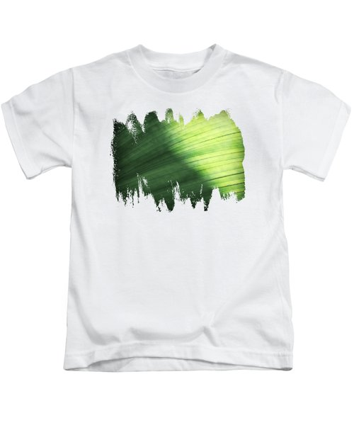Sunlit Palm Kids T-Shirt