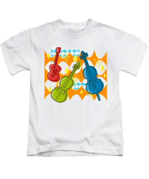 Sunny Grappelli String Jazz Trio Composition Kids T-Shirt