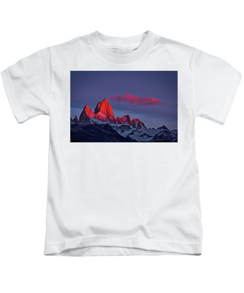 Sunrise At Fitz Roy #3 - Patagonia Kids T-Shirt