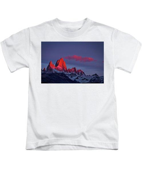 Sunrise At Fitz Roy #3 - Patagonia Kids T-Shirt
