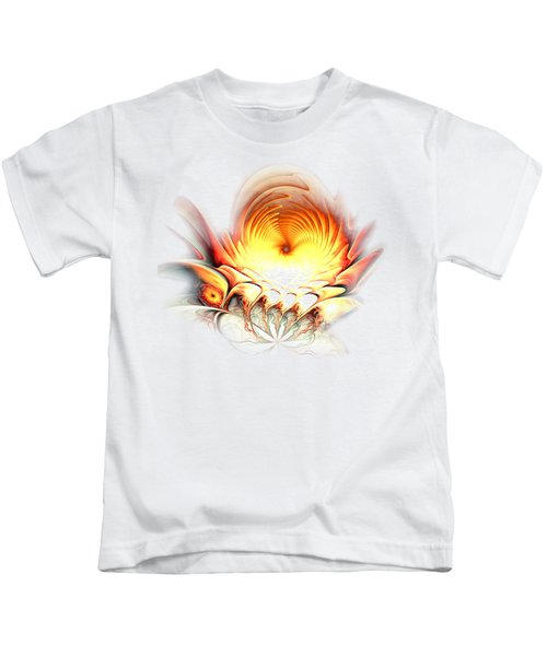 Sunrise In Neverland Kids T-Shirt