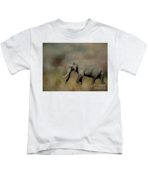 Sunrise On The Savannah Kids T-Shirt