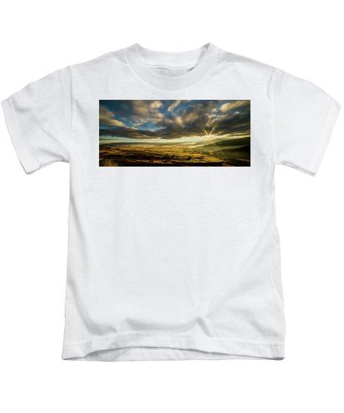 Sunrise Over The Heber Valley Kids T-Shirt