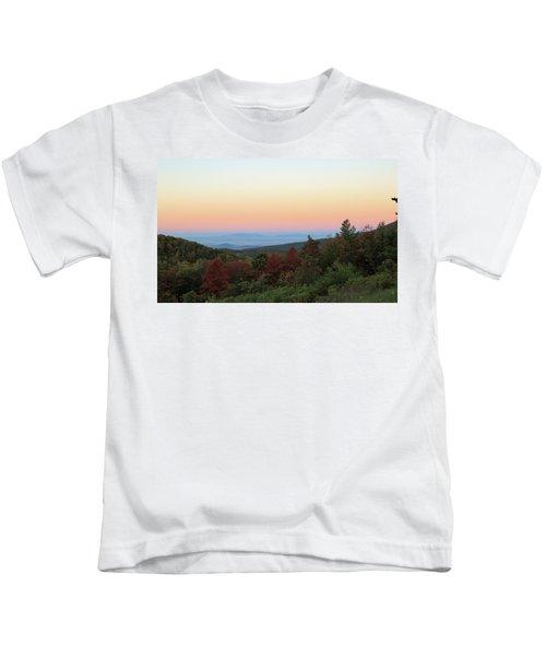 Sunrise Over The Shenandoah Valley Kids T-Shirt