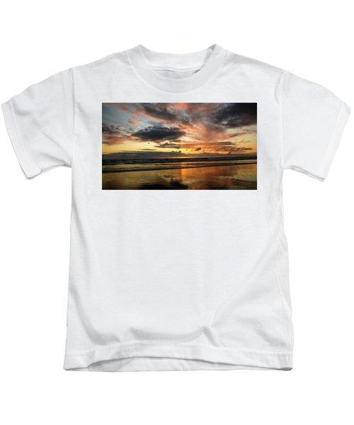 Sunset Split Kids T-Shirt