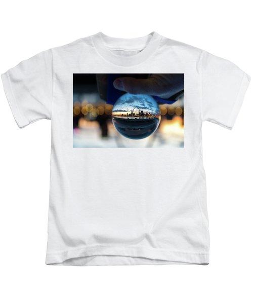 Sunset St. Louis II Kids T-Shirt
