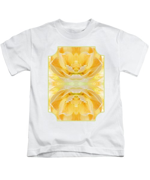 Sunshine Mosaic -  Vertical Kids T-Shirt