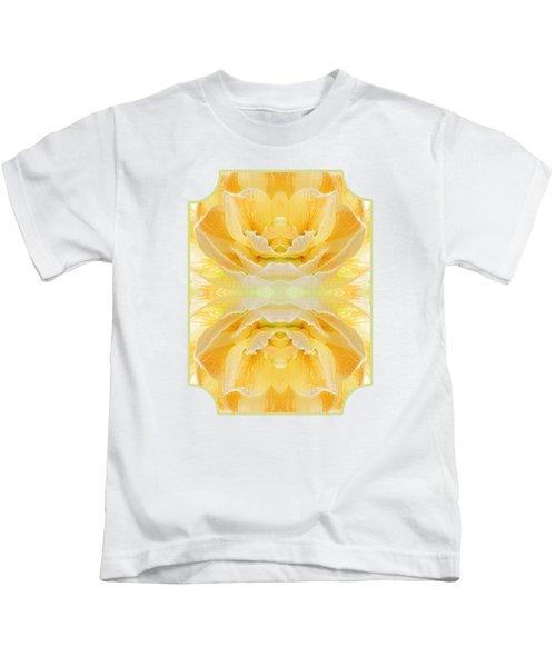 Sunshine Mosaic -  Vertical Kids T-Shirt