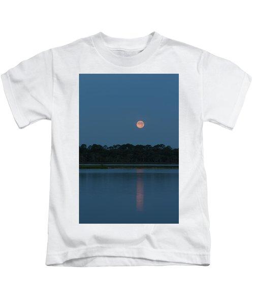 Supermoon Dawn 2013 #2 Kids T-Shirt