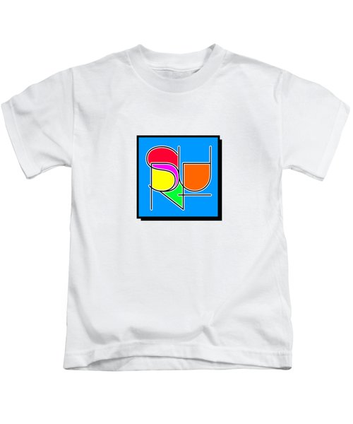 Surf In Abstract Kids T-Shirt