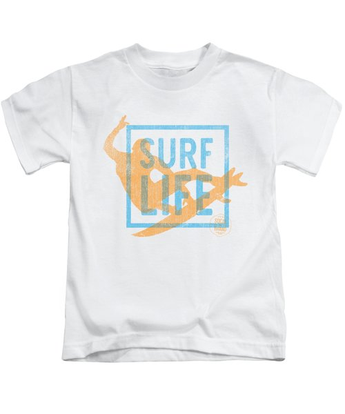 Surf Life 1 Kids T-Shirt by SoCal Brand