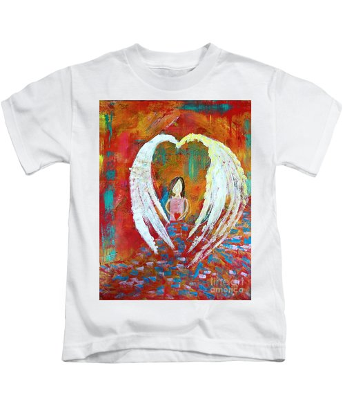 Surrounded By Love Kids T-Shirt