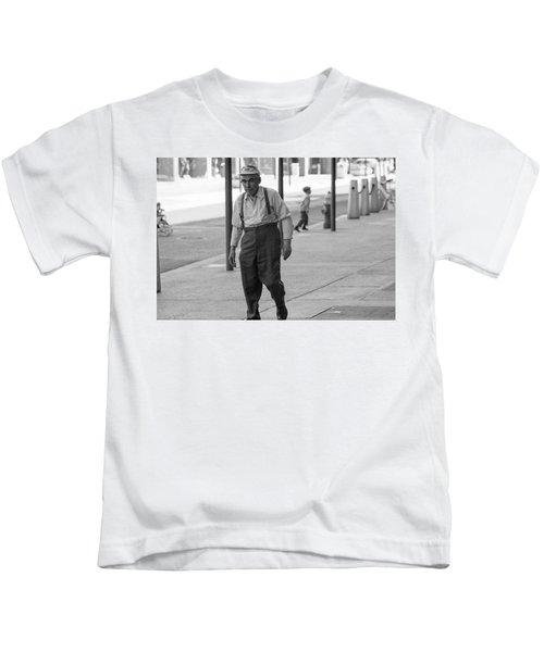 Suspenders Kids T-Shirt