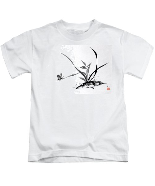 Suzumushi/ Sounds Of Fall Kids T-Shirt