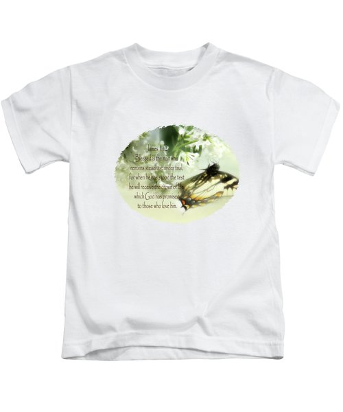 Swallowtail And Lilac Kids T-Shirt