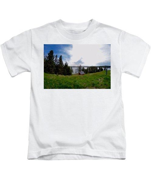 Swans Island Bay Kids T-Shirt