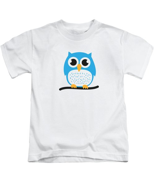 Sweet And Cute Owl Kids T-Shirt