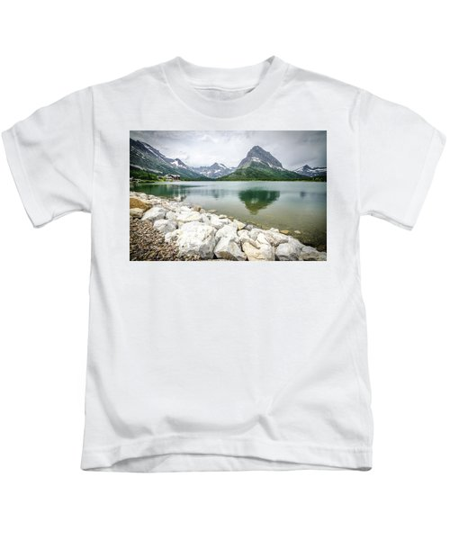 Swiftcurrent Lake Kids T-Shirt
