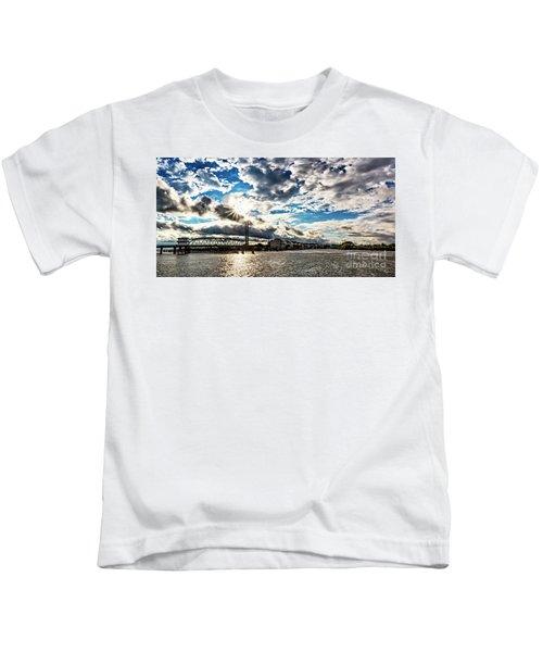 Swing Bridge Drama Kids T-Shirt
