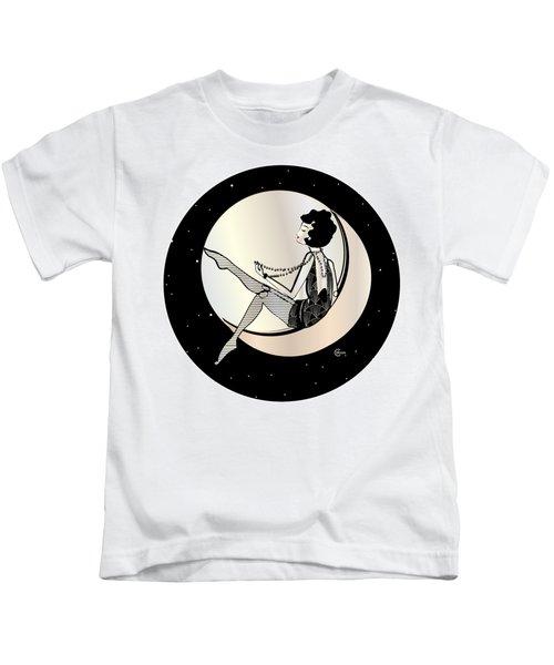 Swinging On The Moon Kids T-Shirt