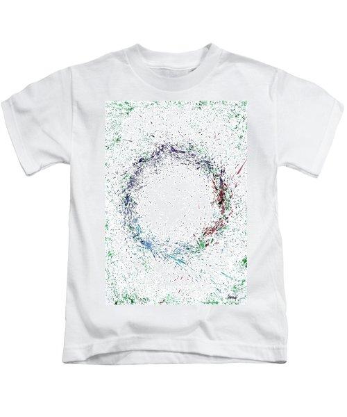 Swirling Of Life Kids T-Shirt