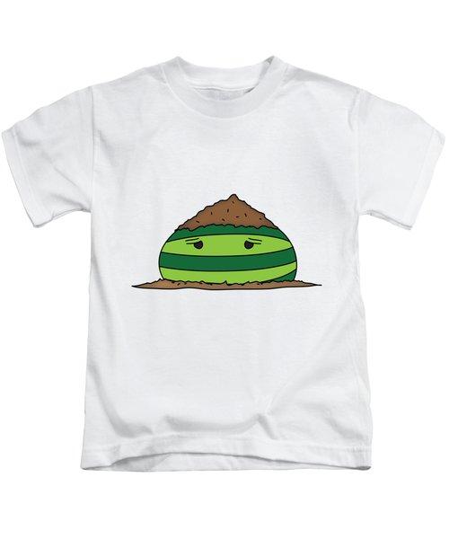 T H E . E L E M E L O N S ______________ E A R T H M E L O N Kids T-Shirt