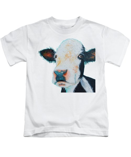 T-shirt With Cow Design Kids T-Shirt
