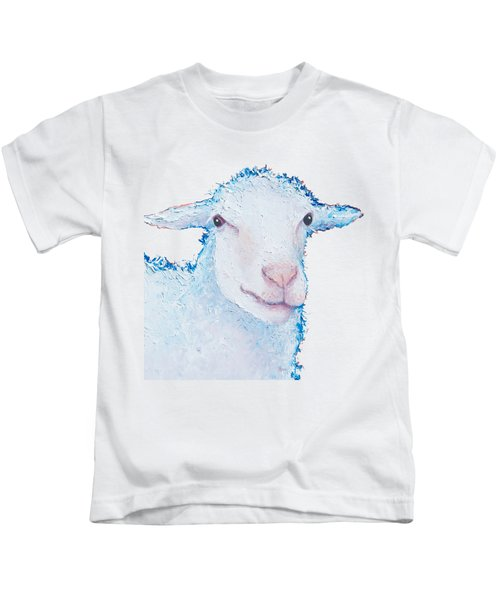 T-shirt With Sheep Design Kids T-Shirt