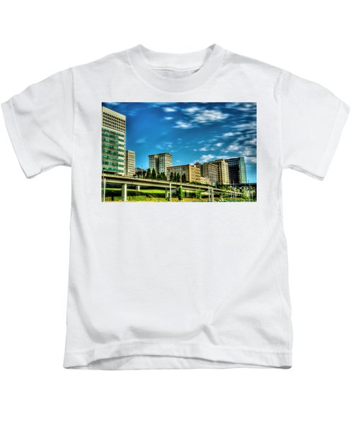 Tacoma,washington.hdr Kids T-Shirt