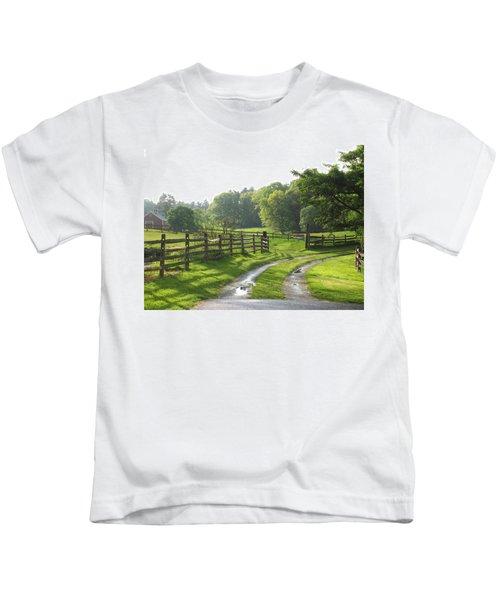 Take A Walk Kids T-Shirt