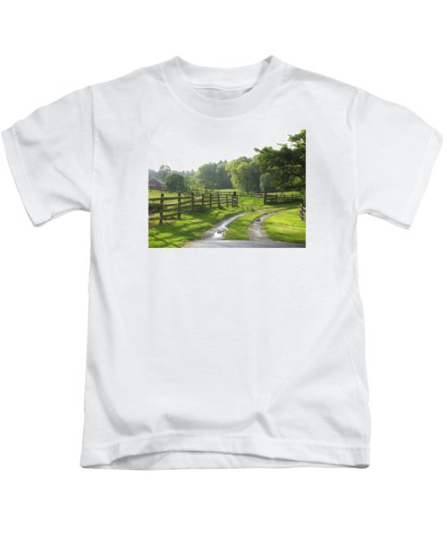 Take A Walk Kids T-Shirt