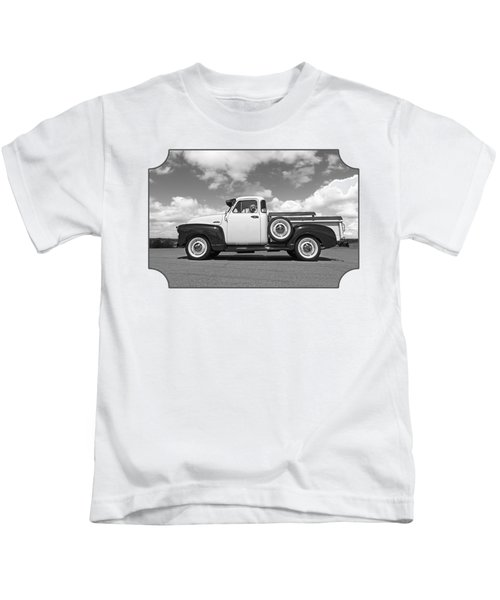 Take Me With You - Black And White Kids T-Shirt