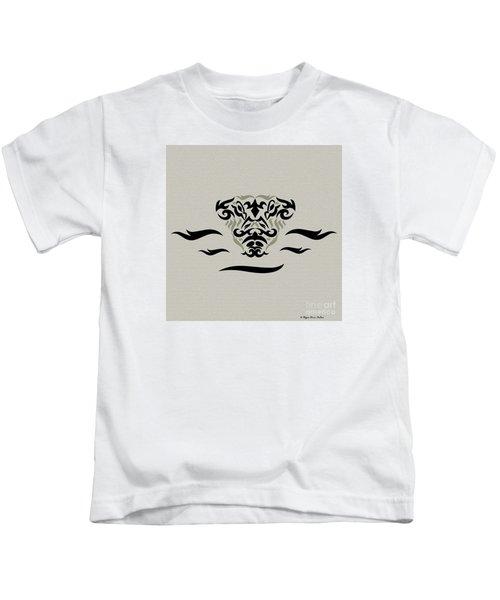 Tan Tribal Gator Kids T-Shirt