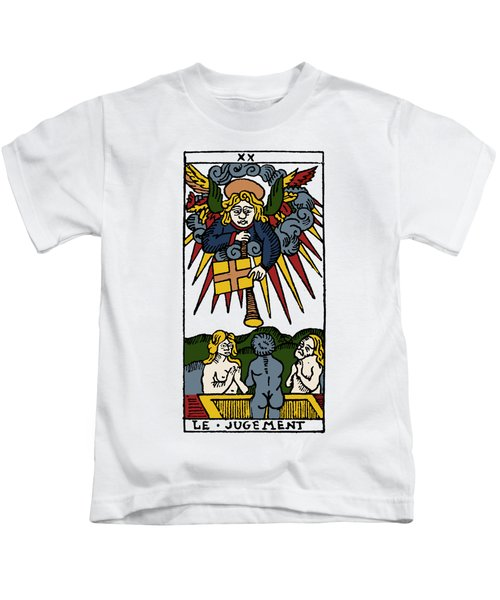 Tarot Card Judgement Kids T-Shirt