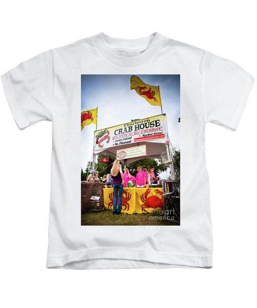 Taste Of Charleston Kids T-Shirt