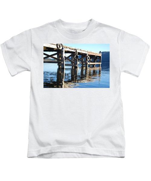 Te Anau Pier Kids T-Shirt