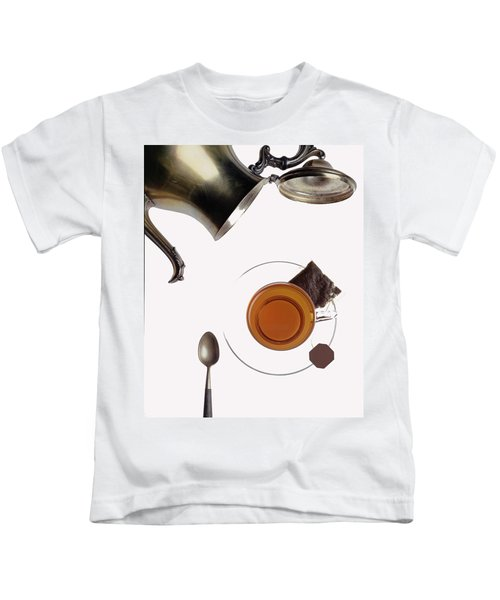 Tea For One Kids T-Shirt