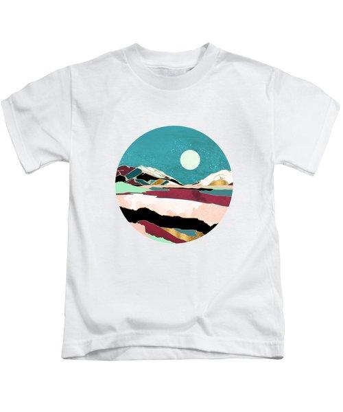 Teal Sky Kids T-Shirt