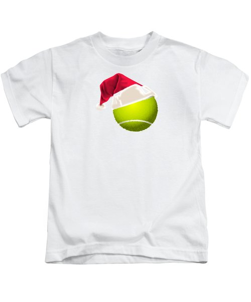 Tennis Christmas Gifts Kids T-Shirt by MGdezigns