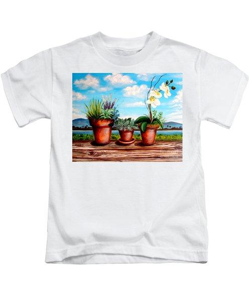 Terra Cotta Blues Kids T-Shirt