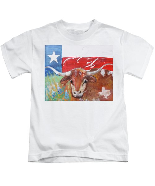 Texas Longhorn Kids T-Shirt